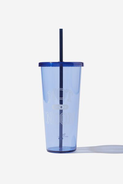 Sipper Smoothie Cup, NOT BEFORE NOON