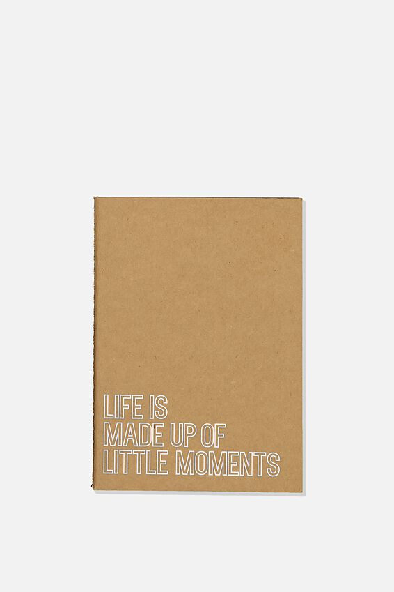 The Mini Undated Monthly Diary, CRAFT LITTLE MOMENTS