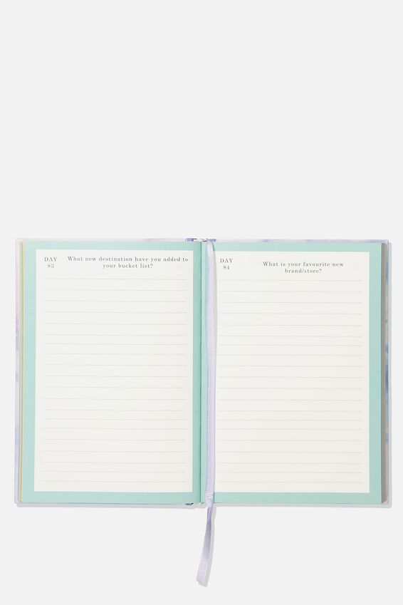 A5 Fashion Activity Journal, THOUGHTS & REFLECTIONS