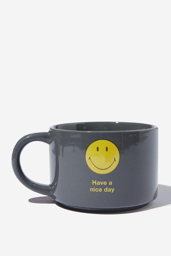 Smiley Big Hit Mug, LCN SMI HAVE A NICE DAY