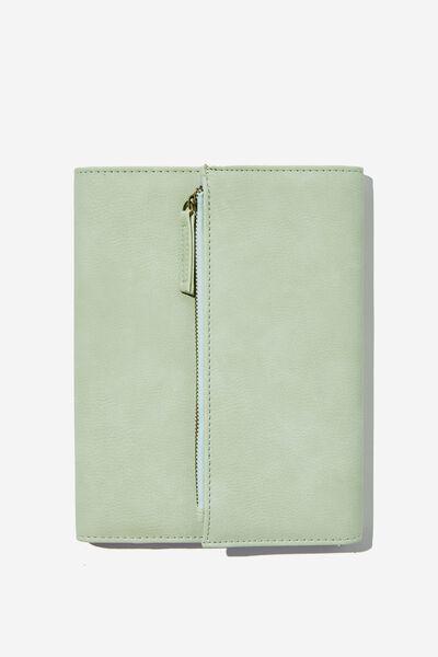 2022 Zip Pocket Diary, SPRING MINT