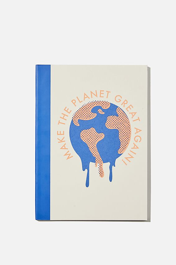 A5 Academy Notebook, PLANET GREAT AGAIN