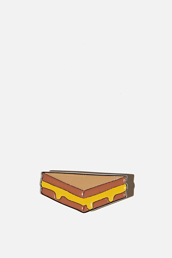 Enamel Badges, GRILLED CHEESE