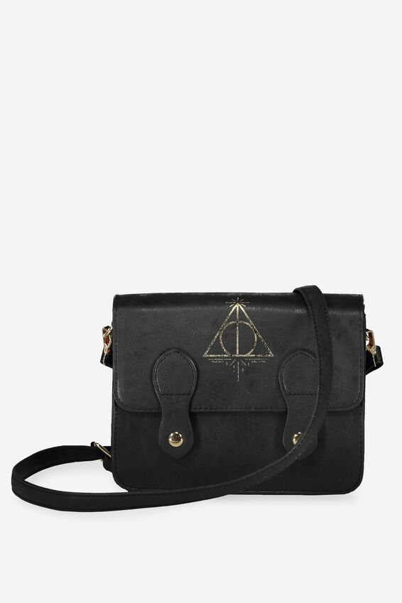 Harry Potter Mini Buffalo Satchel Bag, LCN HP HALLOWS