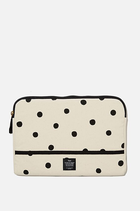 "Take Me Away 11"" Laptop Case, RG OVERSIZED POLKA"