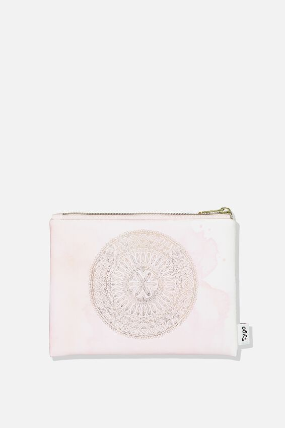 Squad Pencil Case, PINK MANDALA