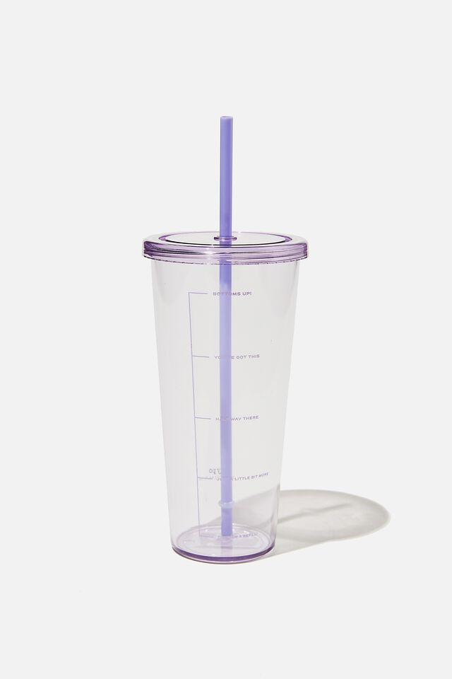Sipper Smoothie Cup, PALE LILAC