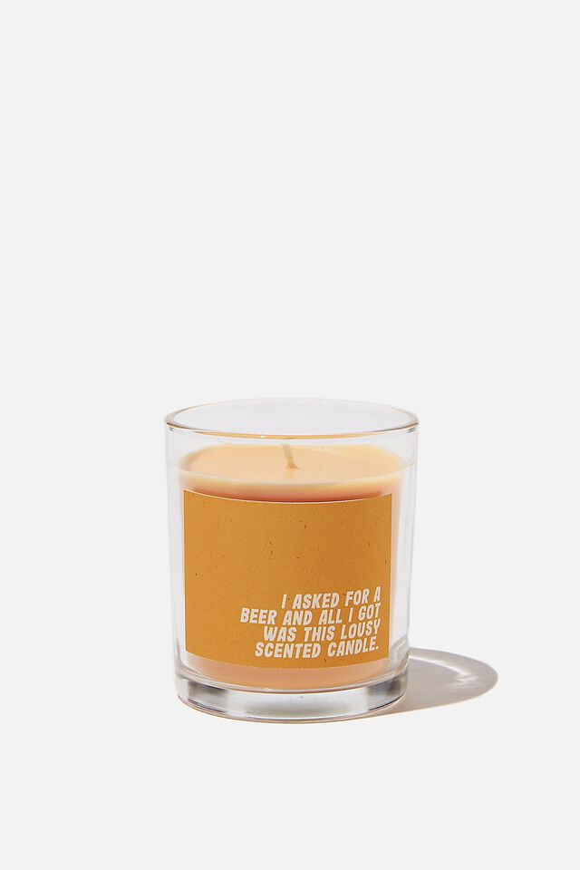 Talk To Me Candle, BEER!