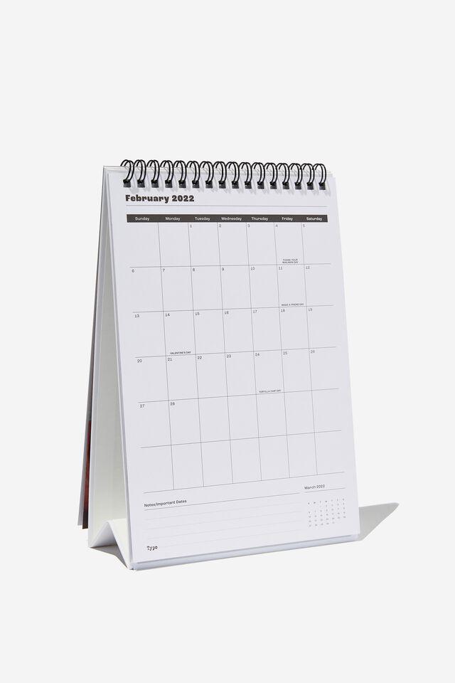 2022 Get A Date Desk Calendar, LCN COK COKE
