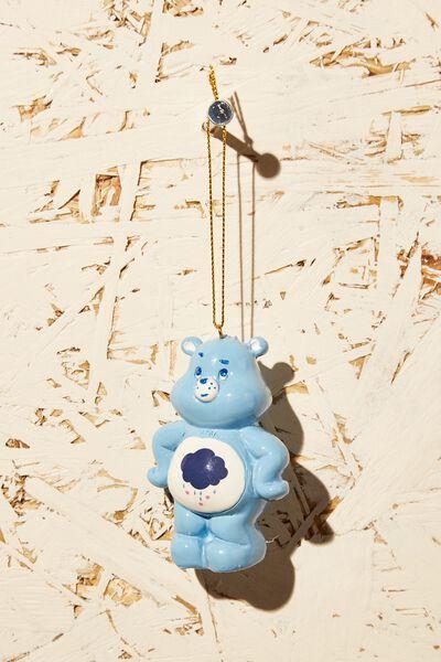 Resin Christmas Ornament, LCN CLC CARE BEARS GRUMPY BEAR