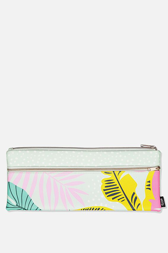 Patti Pencil Case, GIRLIE PALM