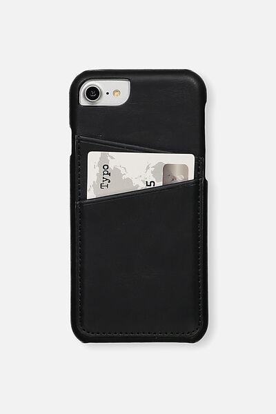 The Phone Cardholder 6,7,8, BLACK