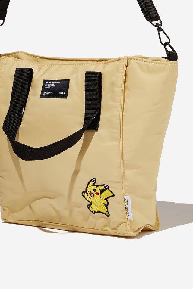 A5 Pokemon Utility Book Tote Bag, LCN POK PIKACHU