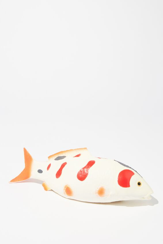 Medium Novelty Squishy, KOI FISH