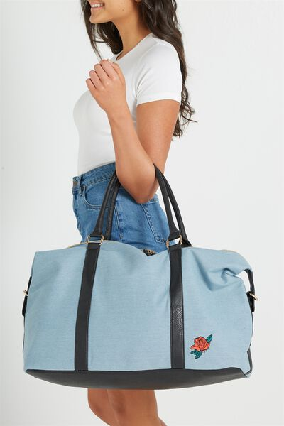 Neo Weekender Bag, CHAMBRAY