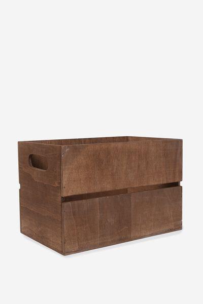 Wooden Crate, VINTAGE