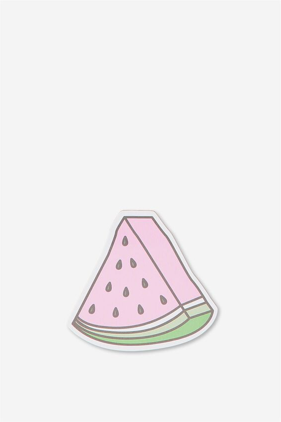 Novelty Sticky Notes - 60 Pages, WATERMELON