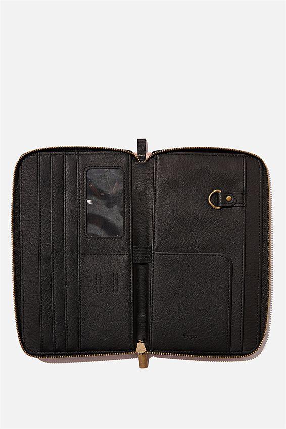 Rfid Odyssey Travel Compendium Wallet, NUDE PINK