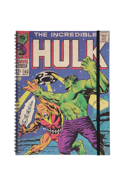 A4 Spinout Notebook - 120 Pages, LCN HULK