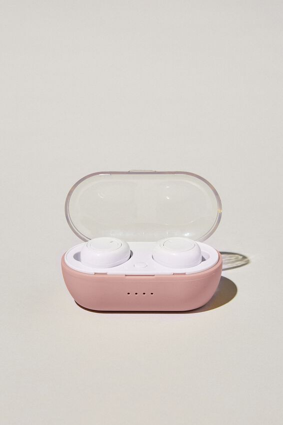 Wireless Earbuds, NUDE PINK