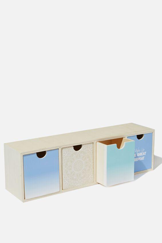 Quick Desk Drawer Storage, MANDALA LACE