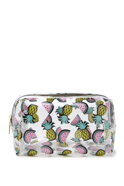 Made Up Cosmetic Bag, PINEAPPLES & WATERMELON