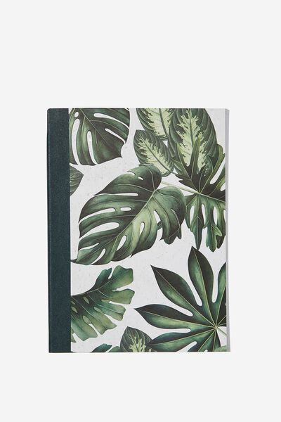 Medium A5 Graduate Journal, MONSTERA LEAF