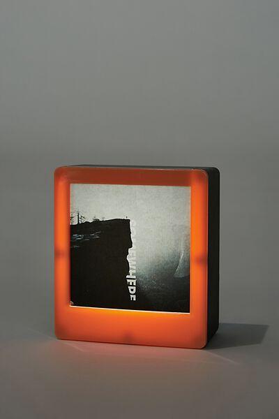 Mini Light Box Photo Frame, PEACH