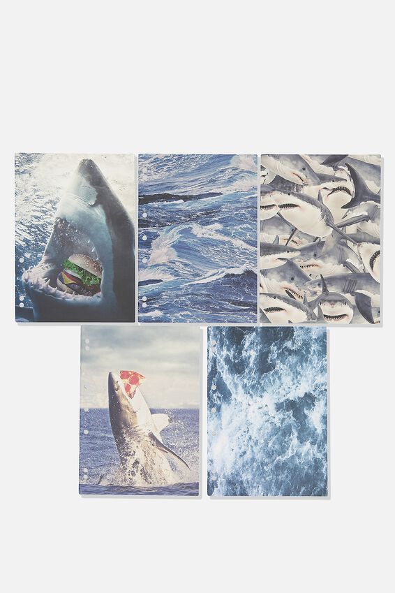 Work It Out Notebook pk 5, SHARK