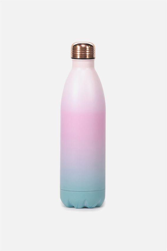 1L Metal Drink Bottle, GRADIENT