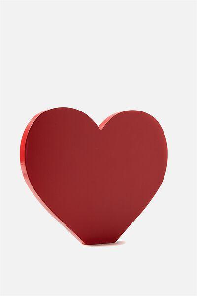 Wooden Symbol, LOVE HEART
