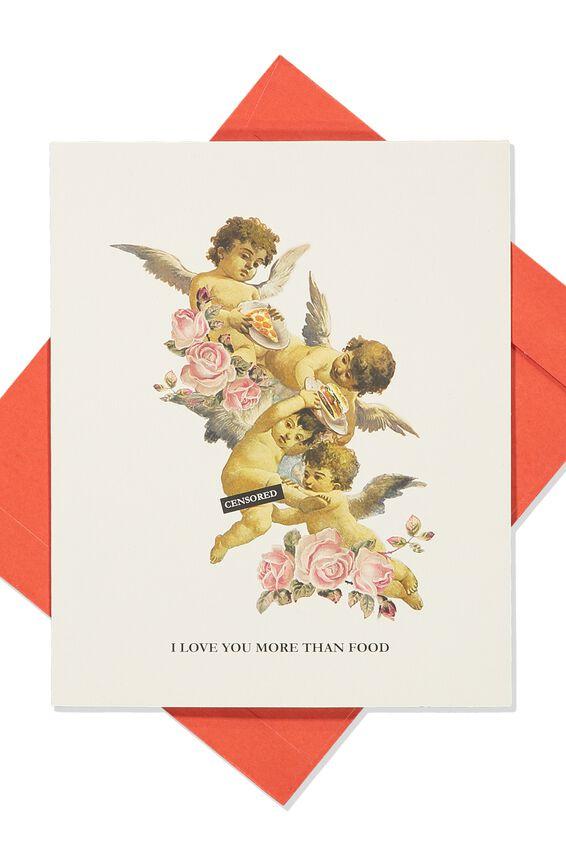 Love Card, CHERUB FOOD