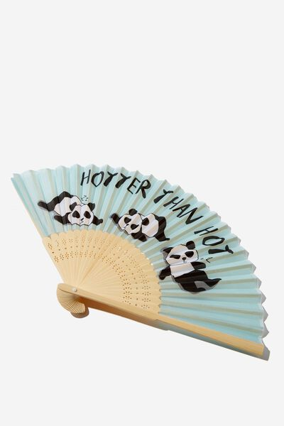 Hand Fan, PANDA