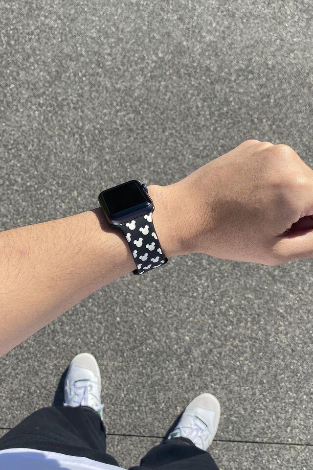 Disney Strapped Watch Strap, LCN DIS MICKEY HEAD YDG