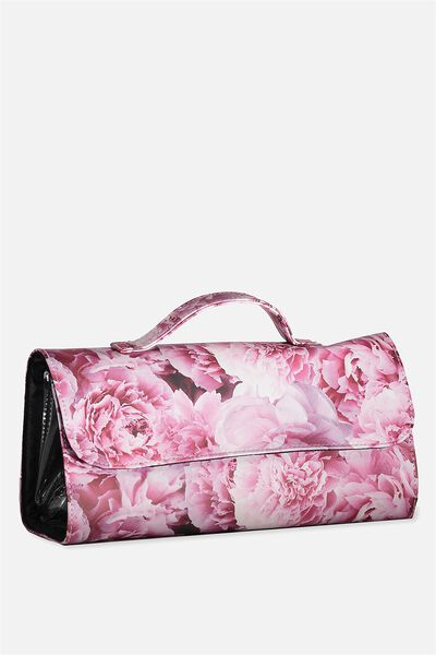 Cancun Cosmetic Case, PEONY FLORAL