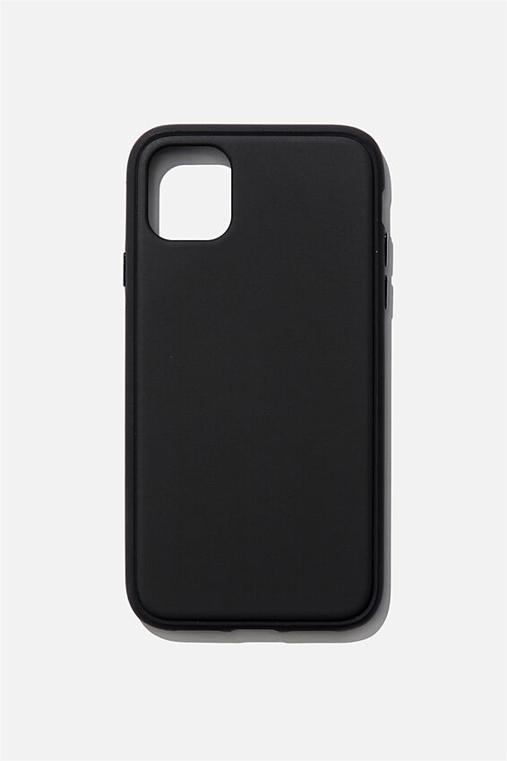 Protective Phone Case iPhone 11, MATTE BLACK