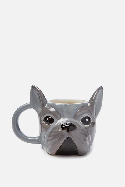 Novelty Shaped Mug, FRENCHIE