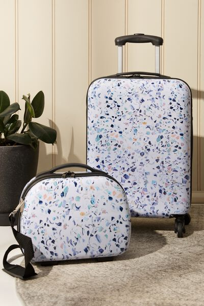 Tsa Small Suitcase, TERRAZZO