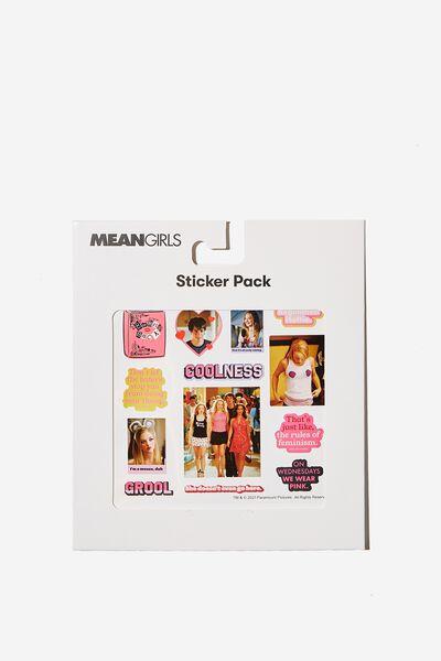 Licensed Sticker Pack, LCN PAR MG MEAN GIRLS