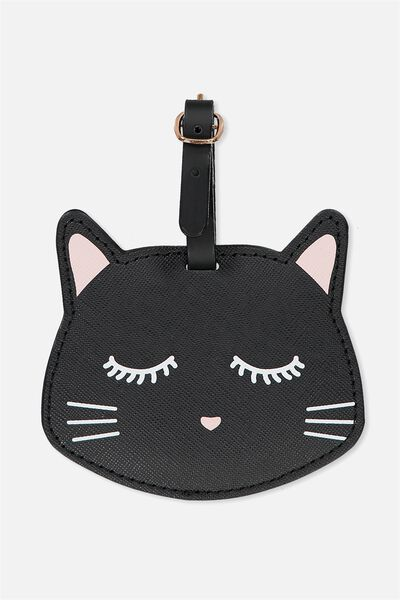 Shape Shifter Luggage Tag, CAT FACE