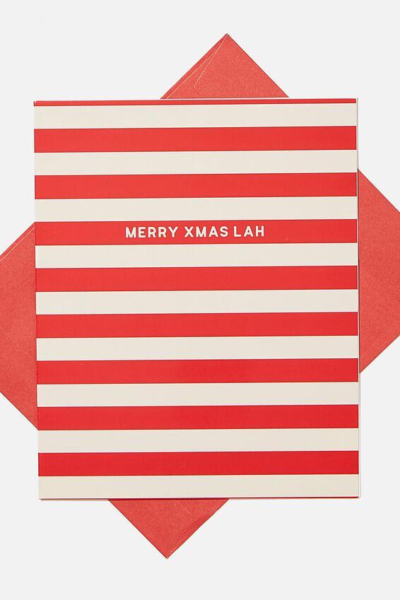 Christmas Card 2020, MERRY CHRISTMAS LAH