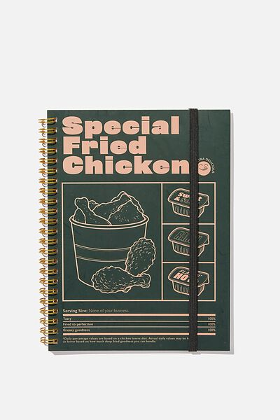 Small Spinout Notebook, SPECIAL FRIED RICE