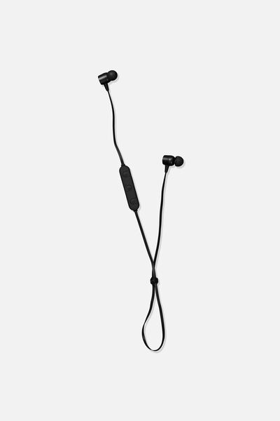 Active Wireless Earphones, BLACK