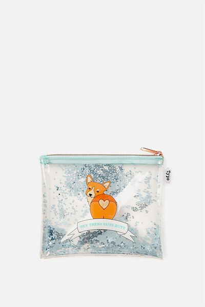 Clear It Pencil Case, CORGI CUTE BUTT!