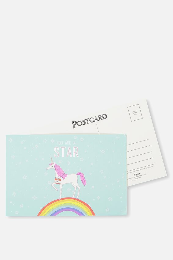 Postcard, YOU ARE A STAR