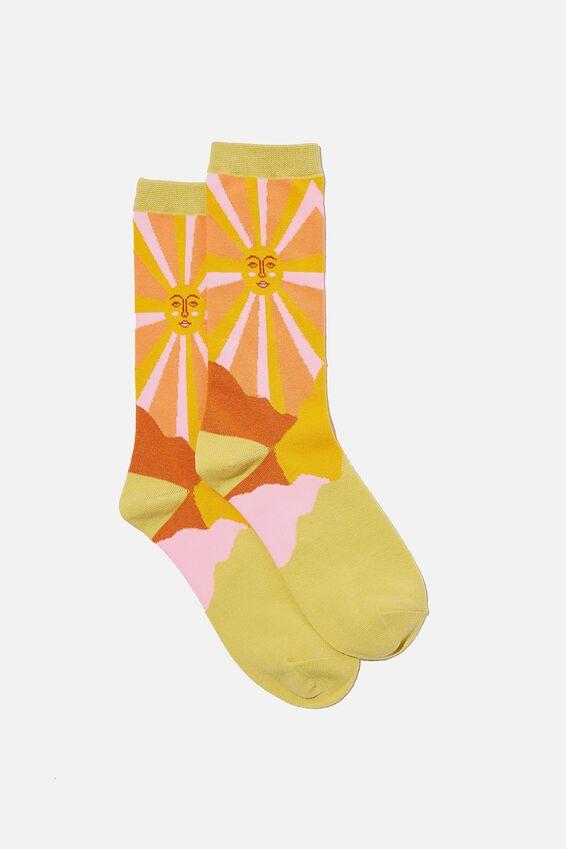 Socks, SUN SKY