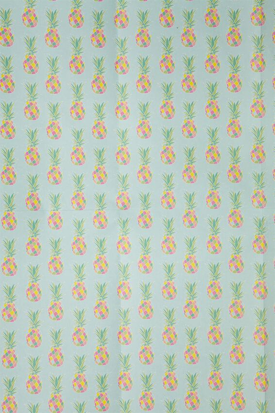 Flat Wrapping Paper, PINEAPPLES