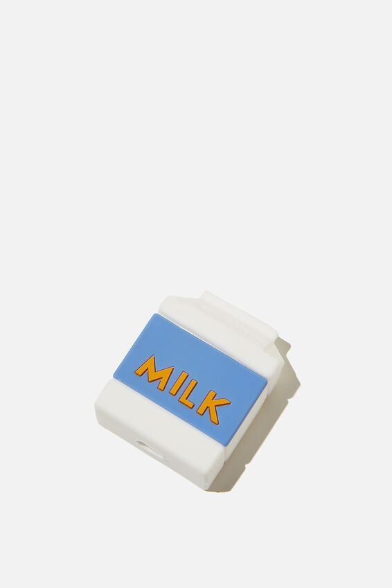 Ear Bud Sleeve, MILK CARTON