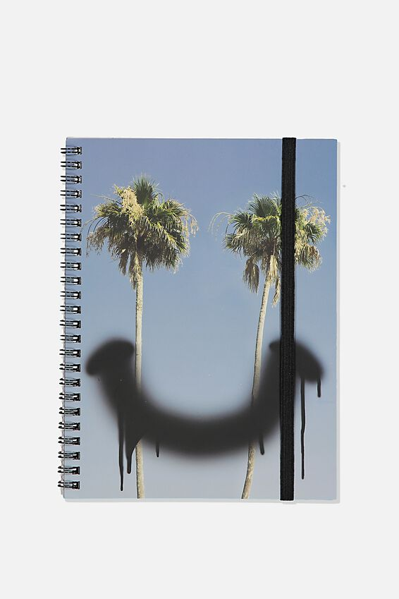 A5 Spinout Notebook Recycled, TBAR SMILER