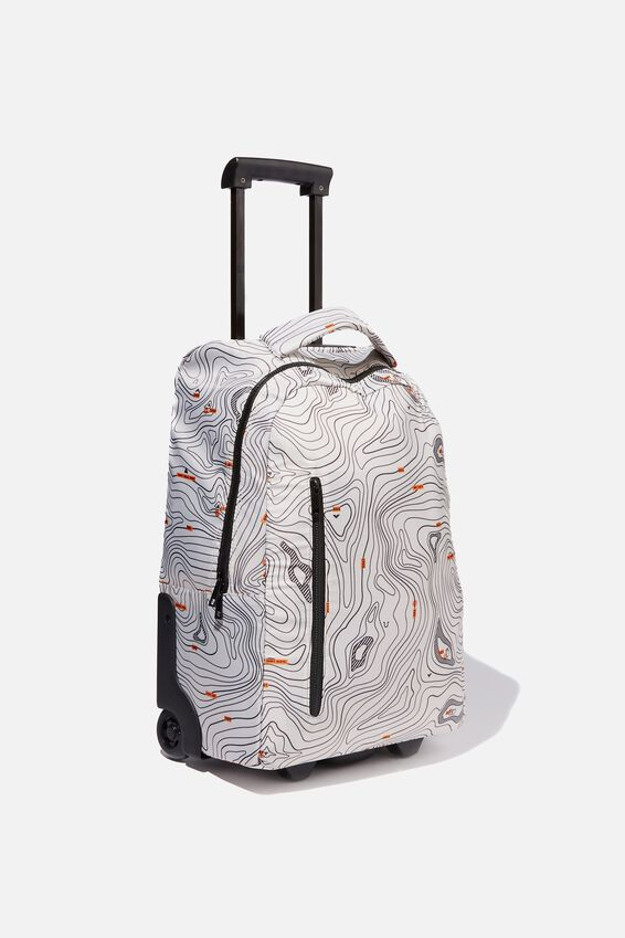Soft Shell Suitcase, TOPOGRAPHIC MAP
